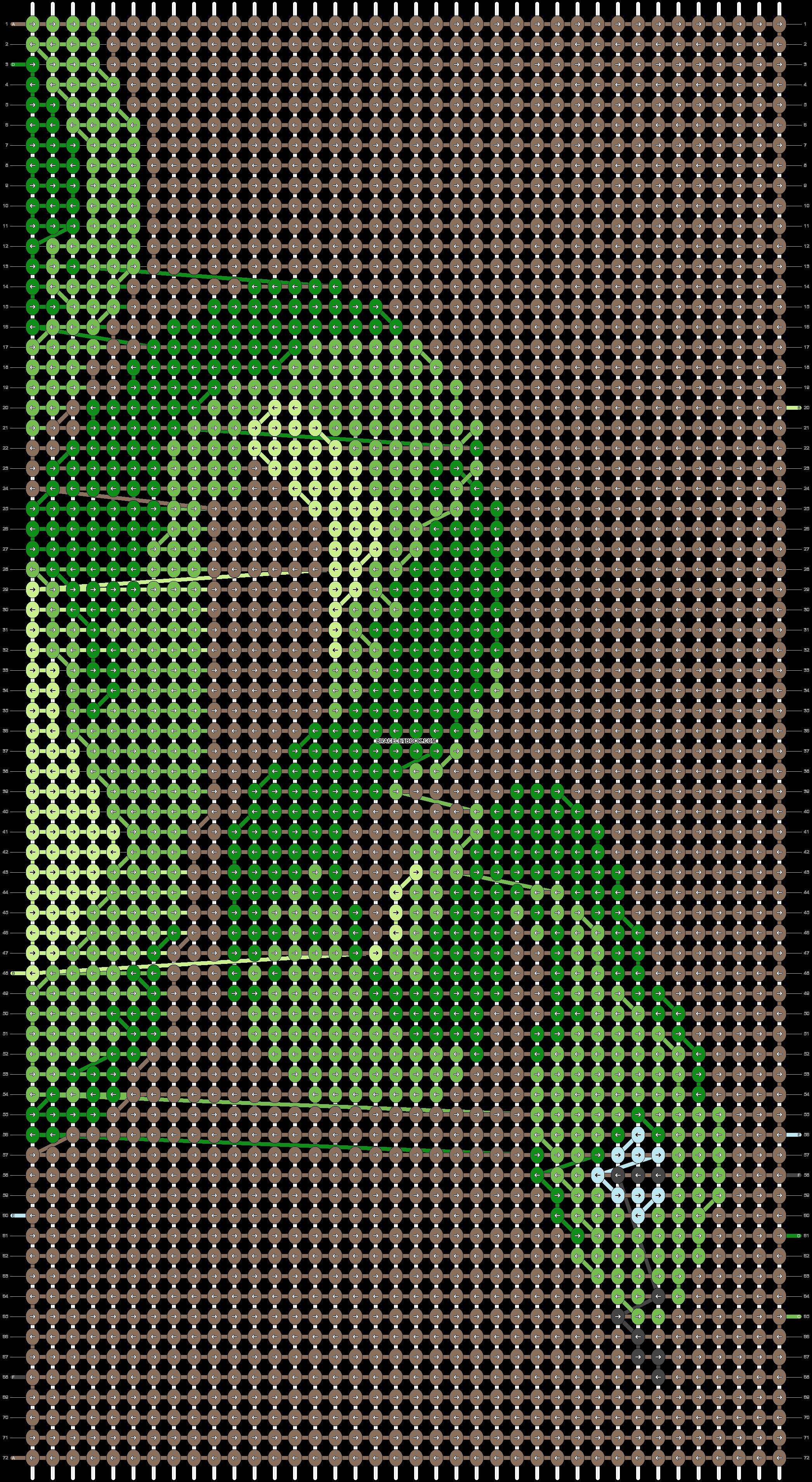 Alpha pattern #50000 pattern