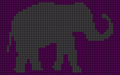 Alpha pattern #50033