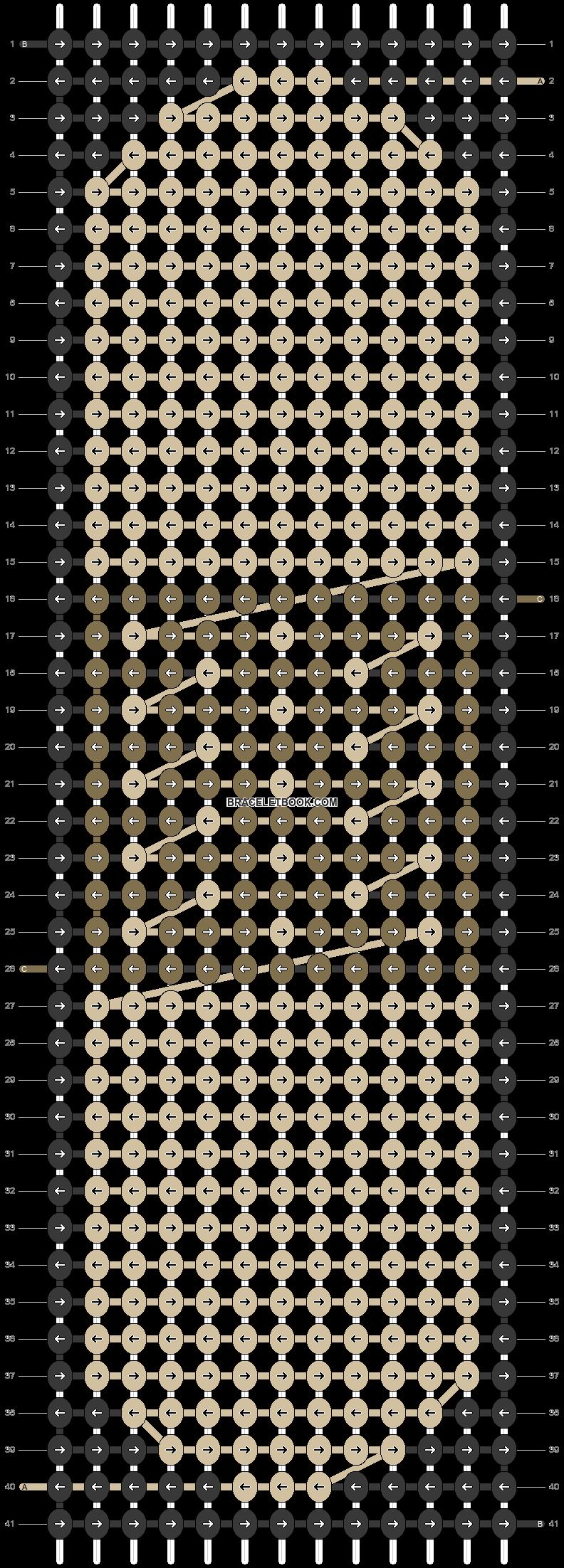 Alpha pattern #50034 pattern