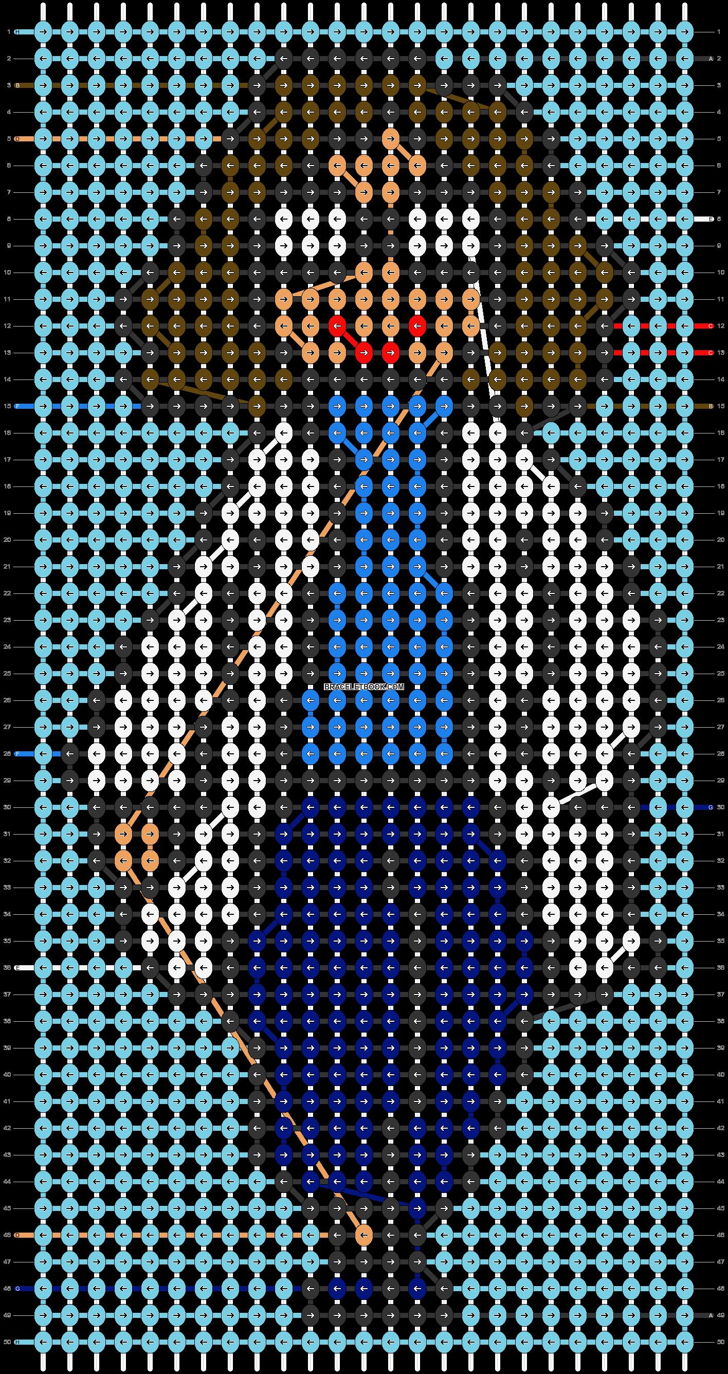 Alpha pattern #50040 pattern