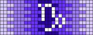 Alpha pattern #50045