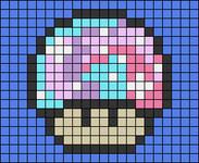 Alpha pattern #50072