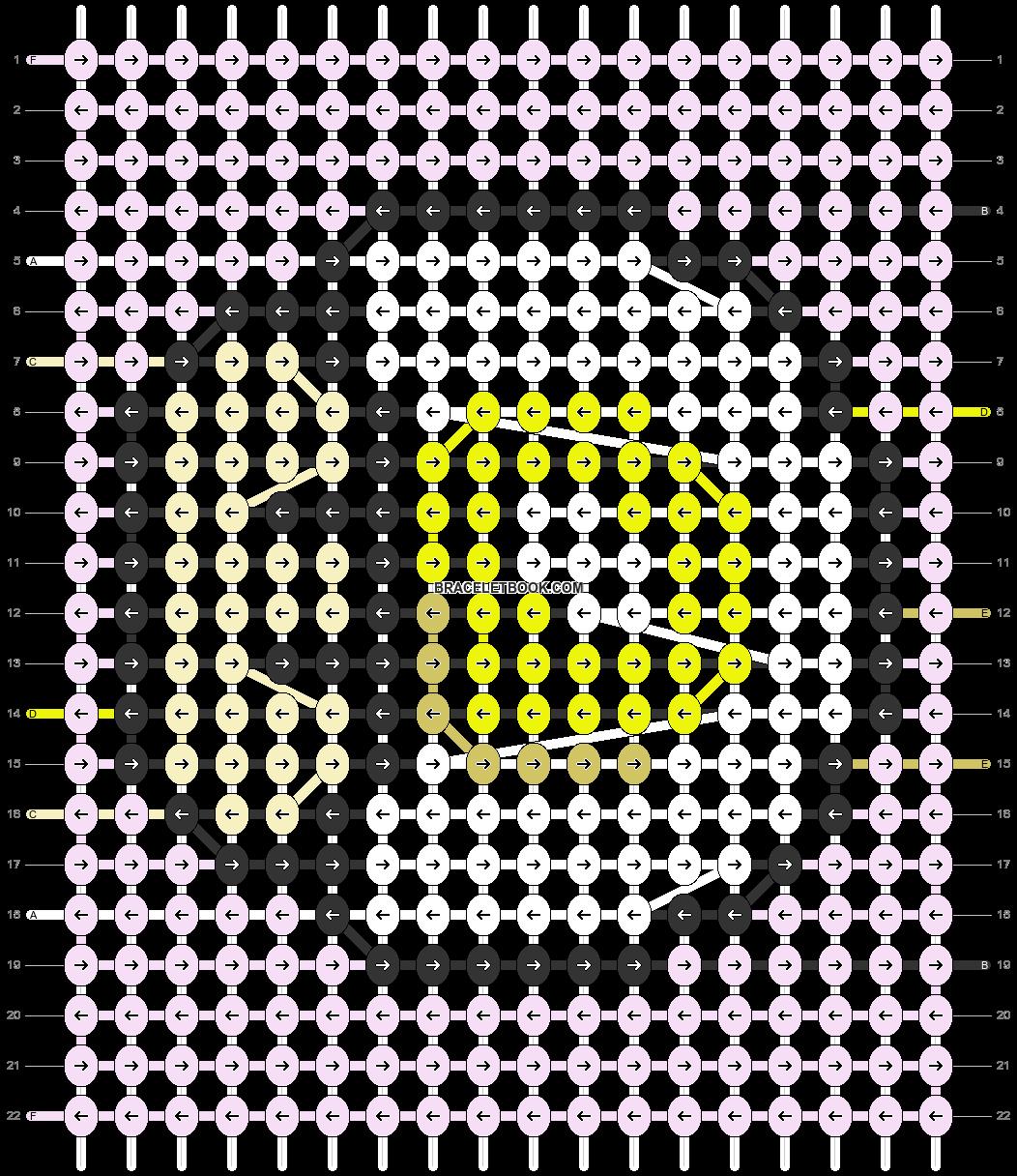 Alpha pattern #50074 pattern