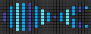 Alpha pattern #50105