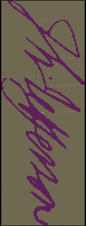 Alpha pattern #50106 pattern