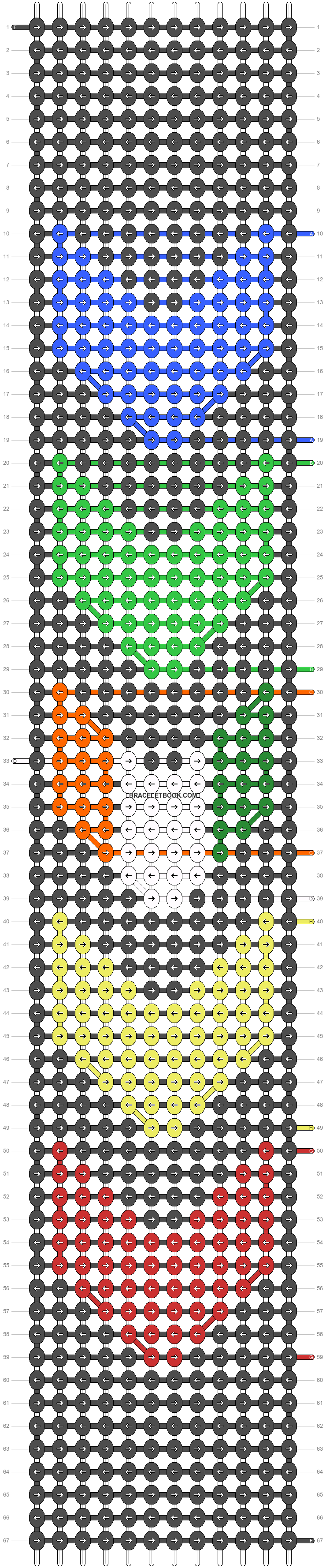 Alpha pattern #50108 pattern