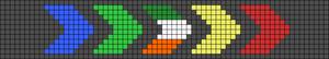 Alpha pattern #50108