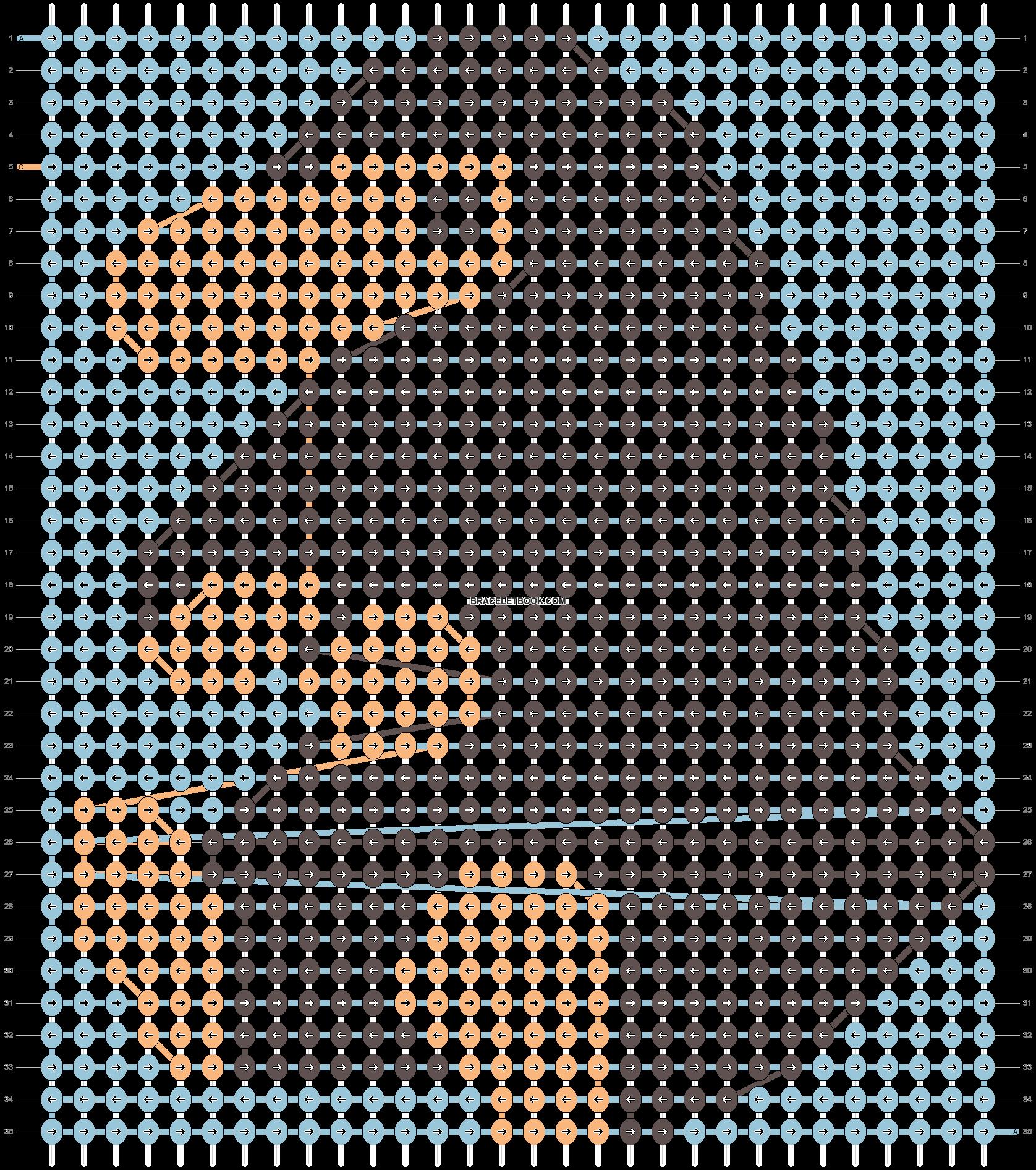 Alpha pattern #50110 pattern