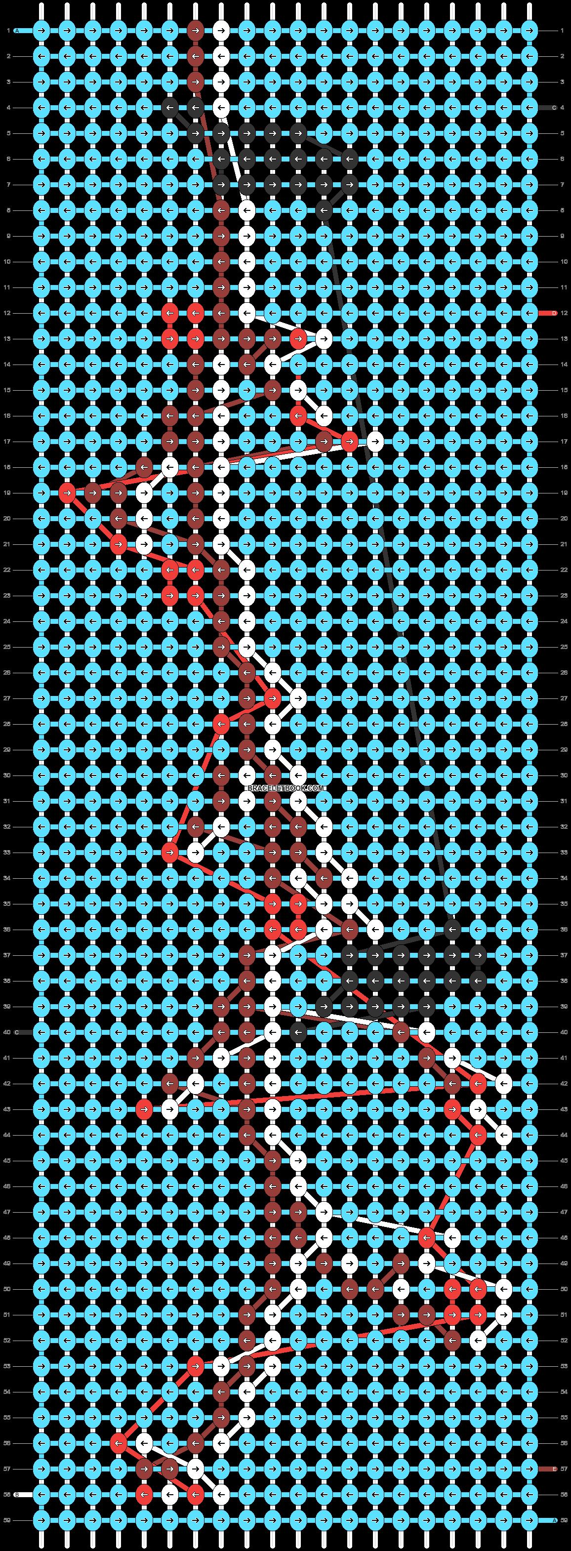Alpha pattern #50111 pattern