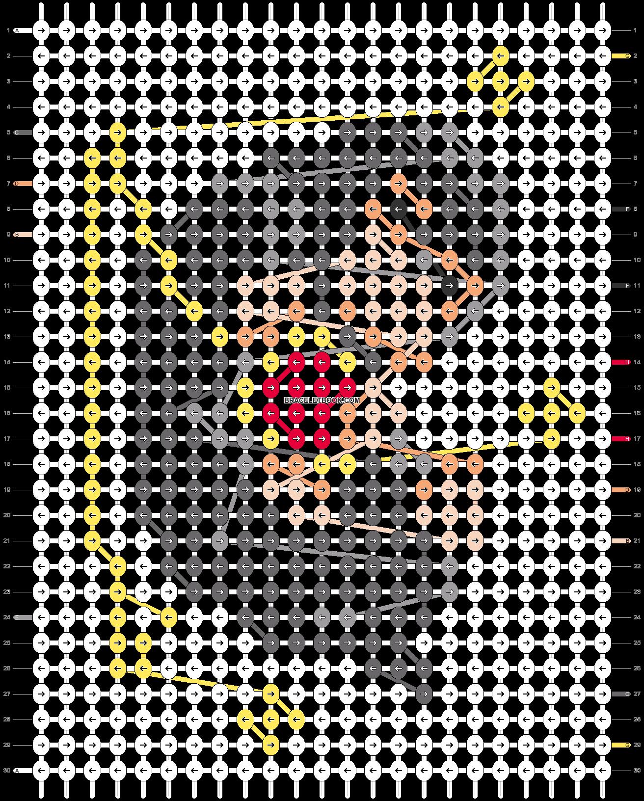 Alpha pattern #50117 pattern