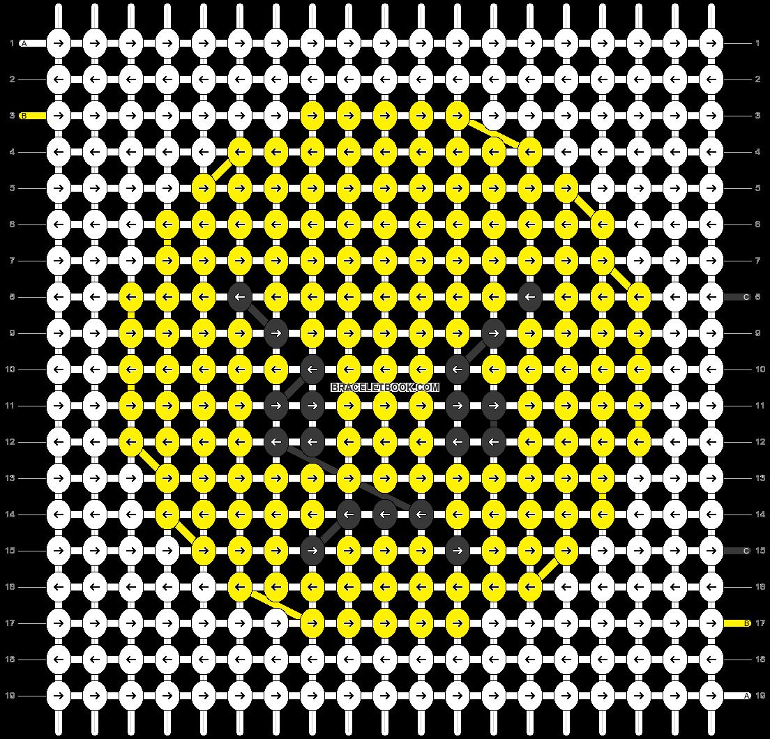 Alpha pattern #50122 pattern