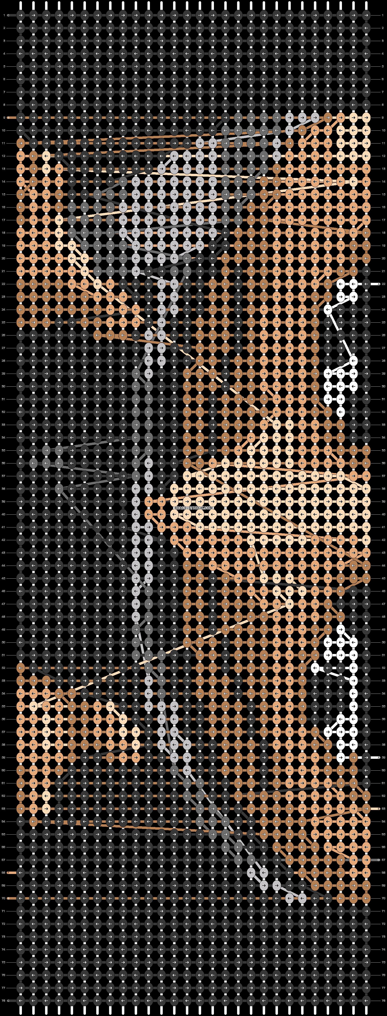 Alpha pattern #50129 pattern
