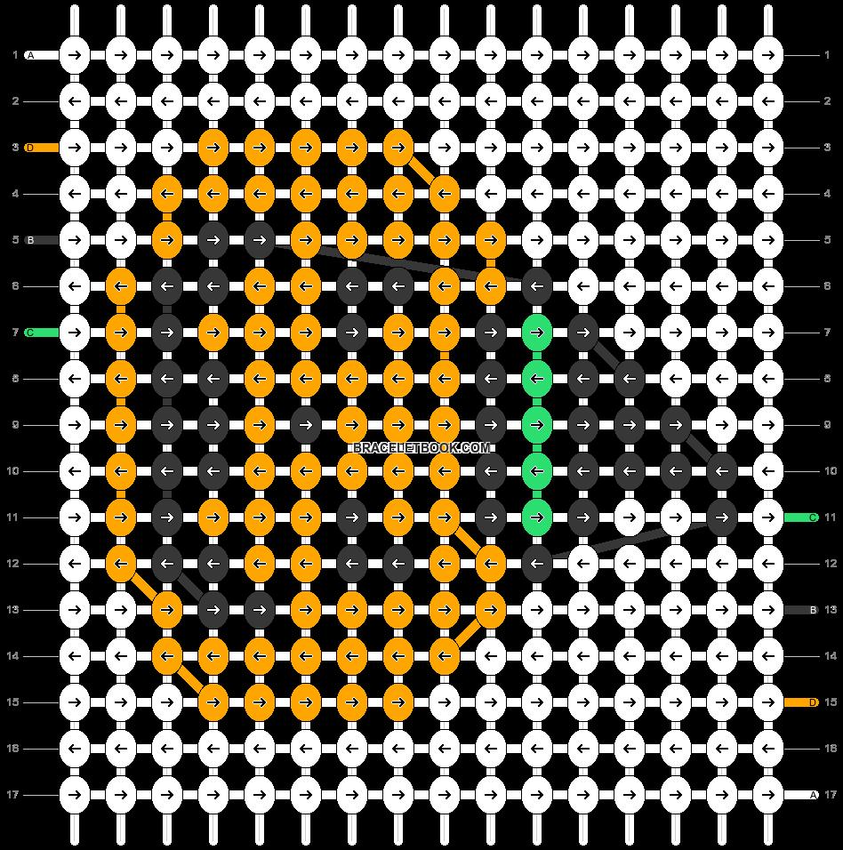 Alpha pattern #50158 pattern
