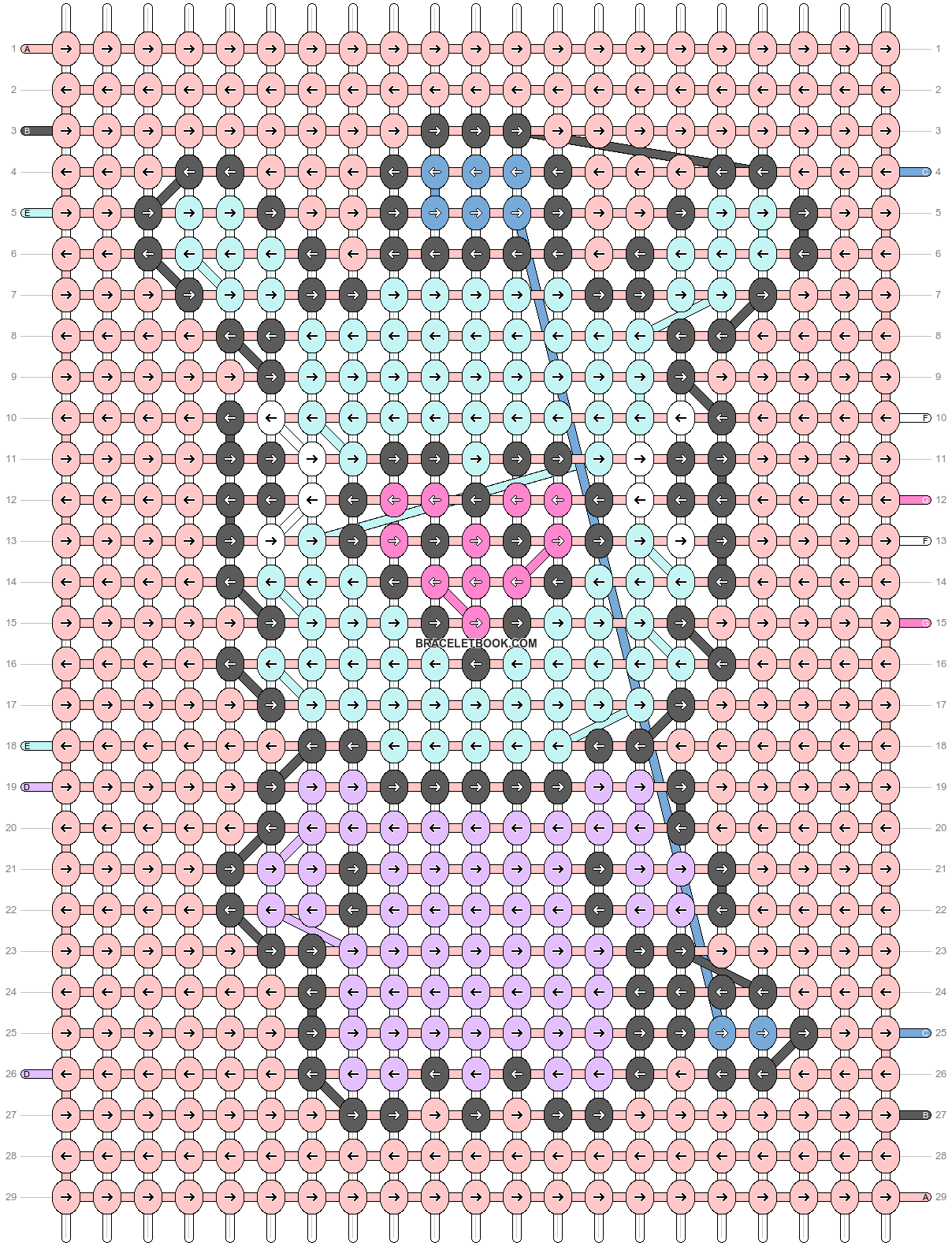 Alpha pattern #50163 pattern