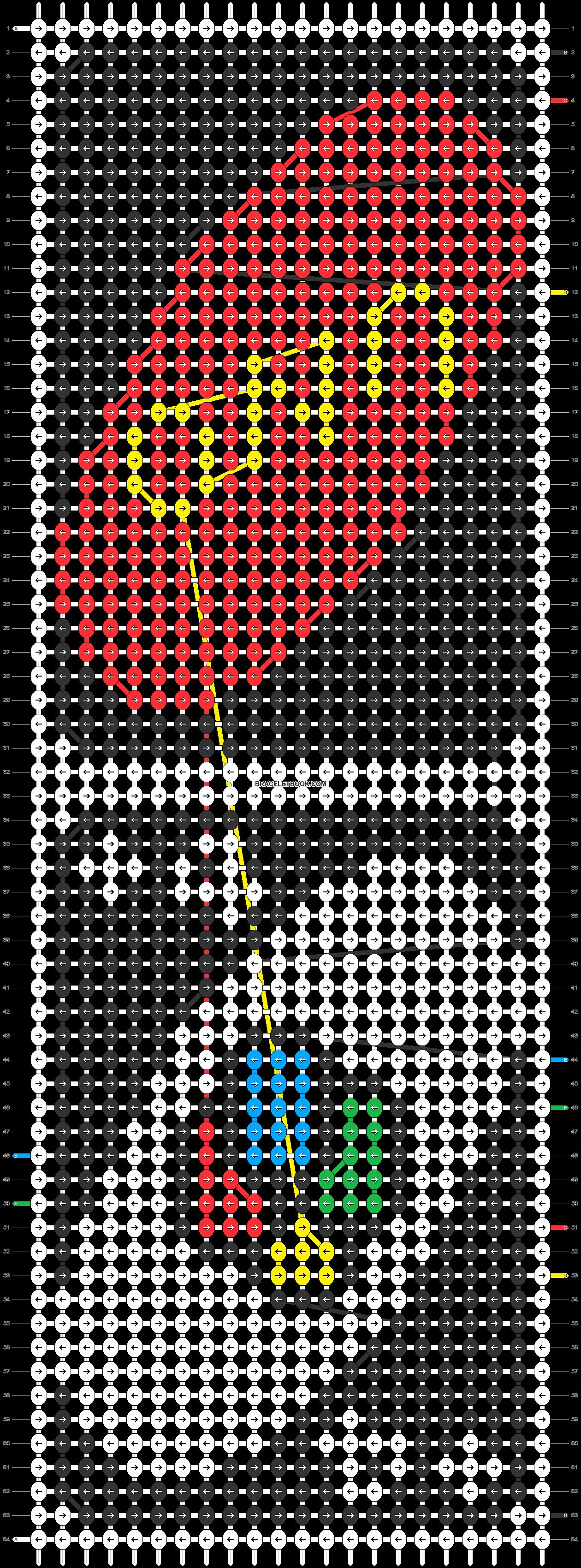 Alpha pattern #50186 pattern