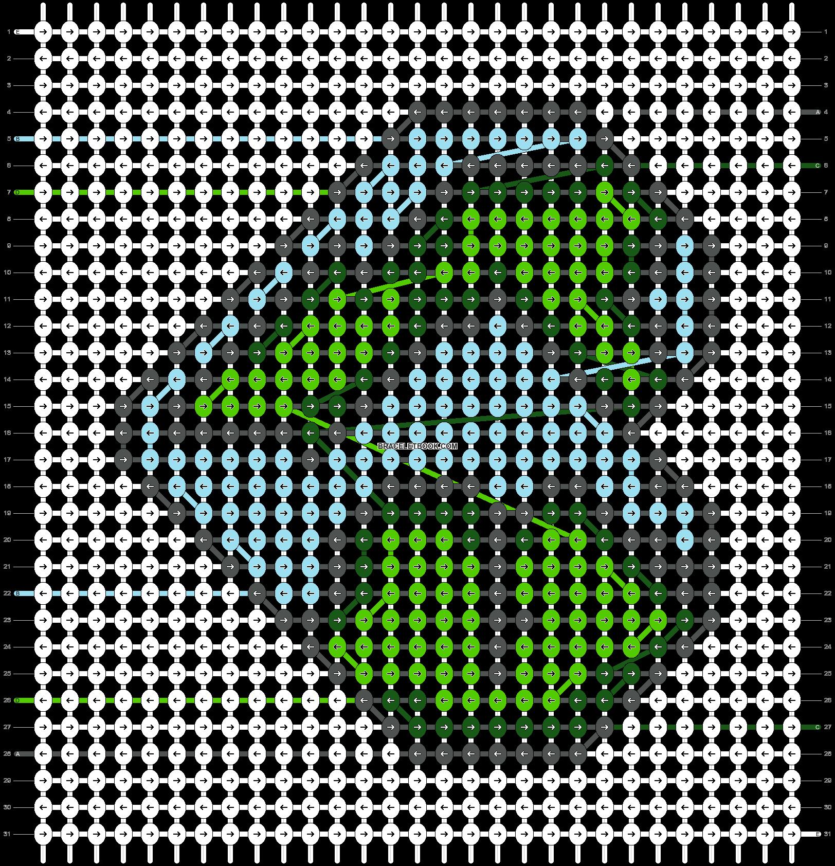 Alpha pattern #50194 pattern