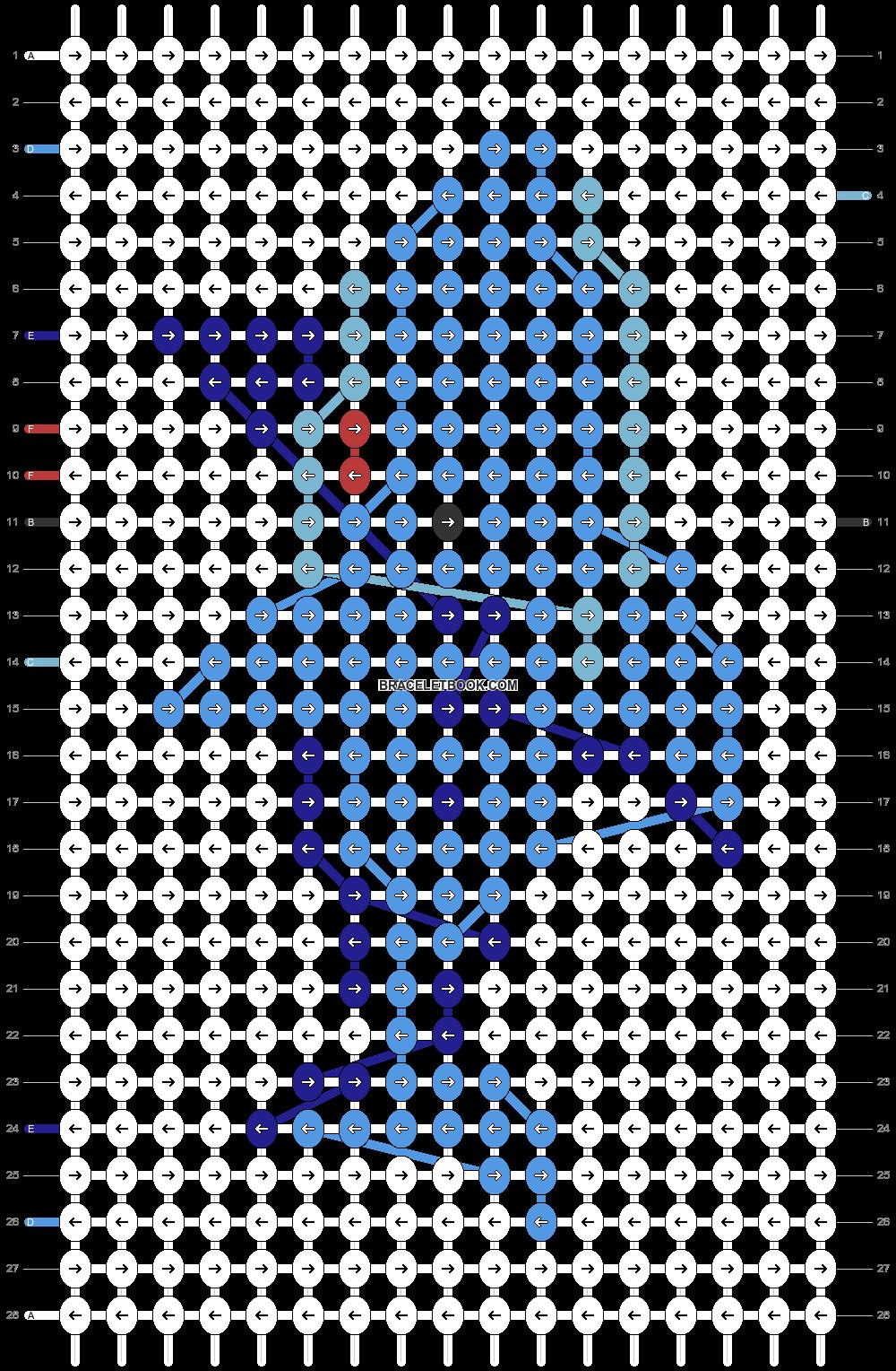 Alpha pattern #50203 pattern