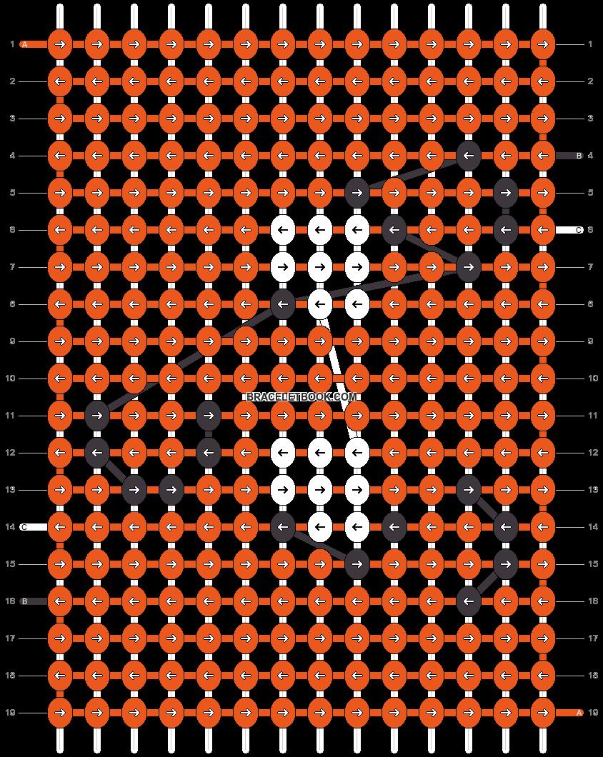 Alpha pattern #50217 pattern
