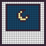 Alpha pattern #50323
