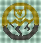 Alpha pattern #50336
