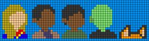 Alpha pattern #50354