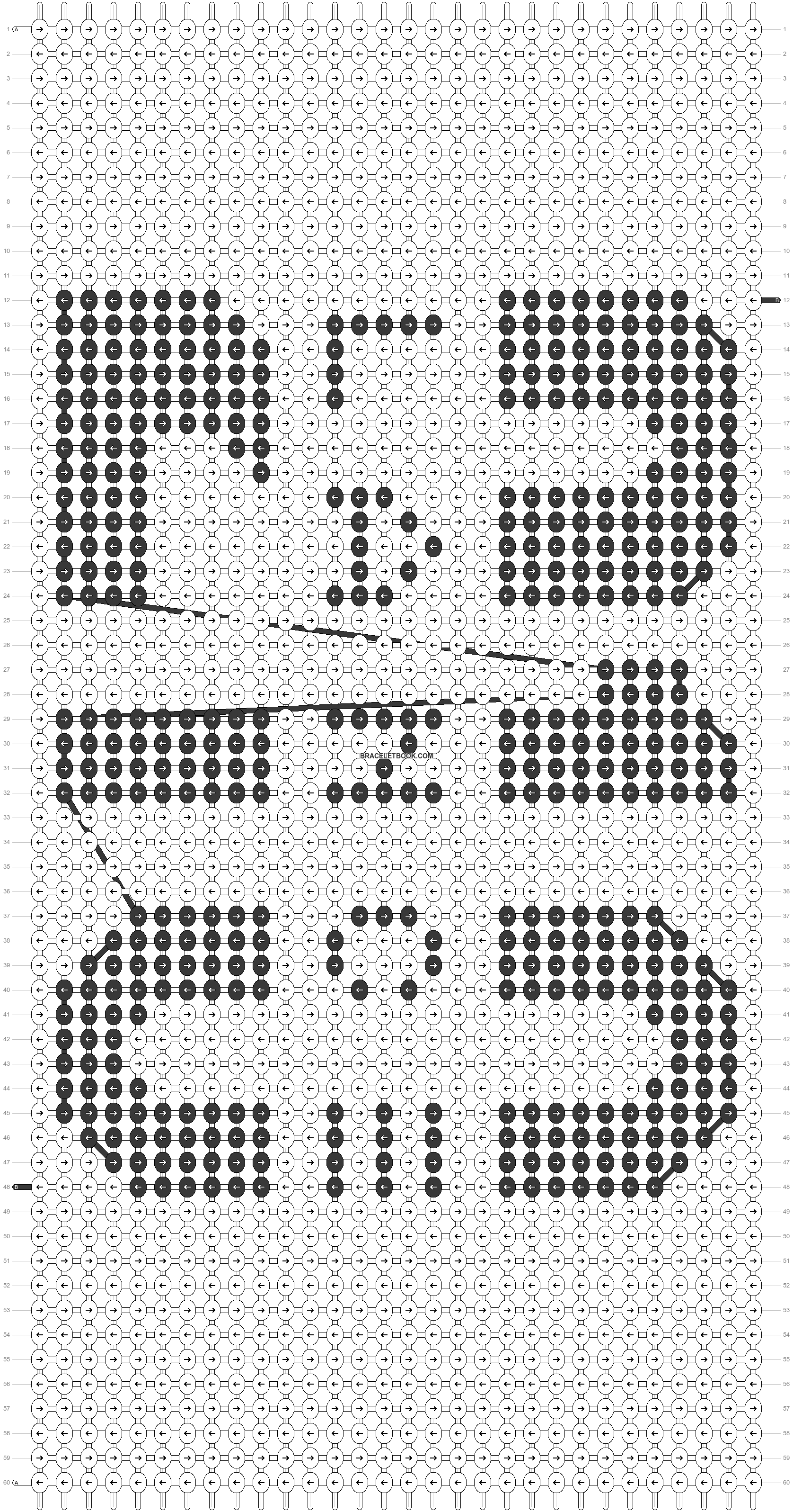Alpha pattern #50356 pattern