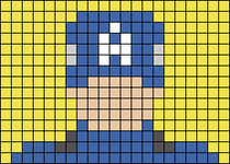 Alpha pattern #50388
