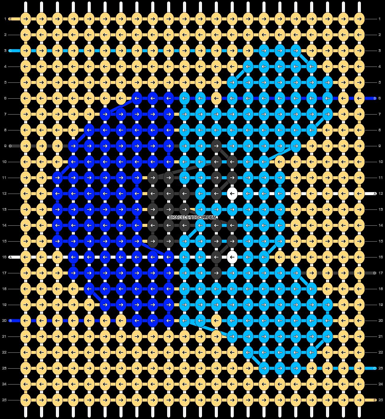 Alpha pattern #50445 pattern