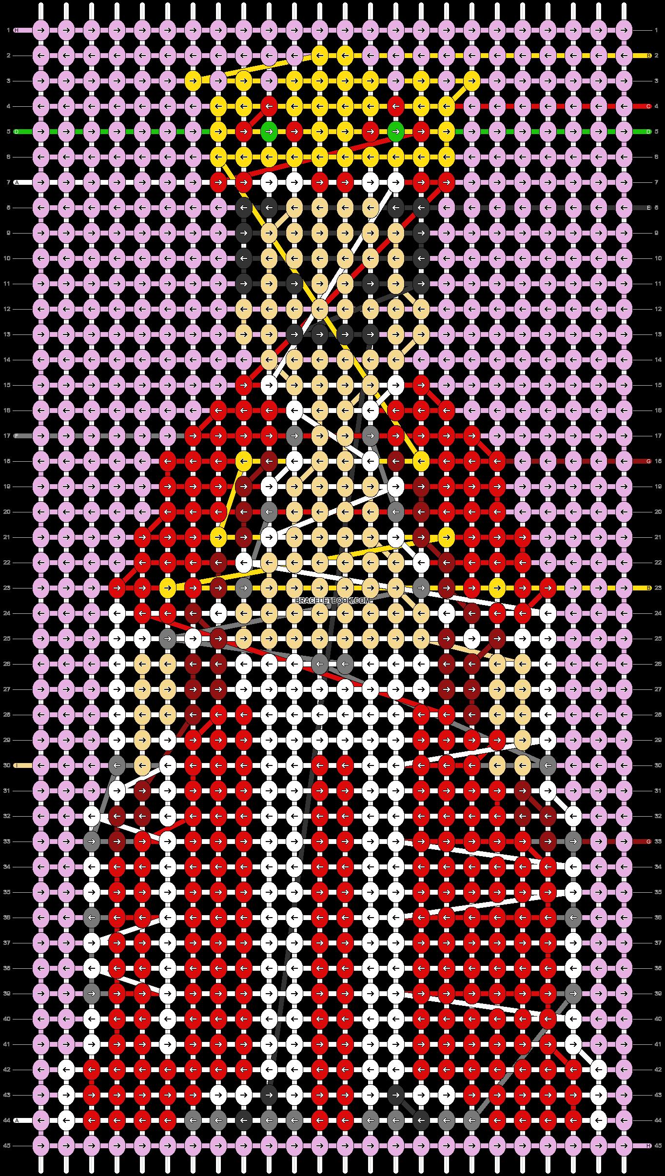 Alpha pattern #50456 pattern