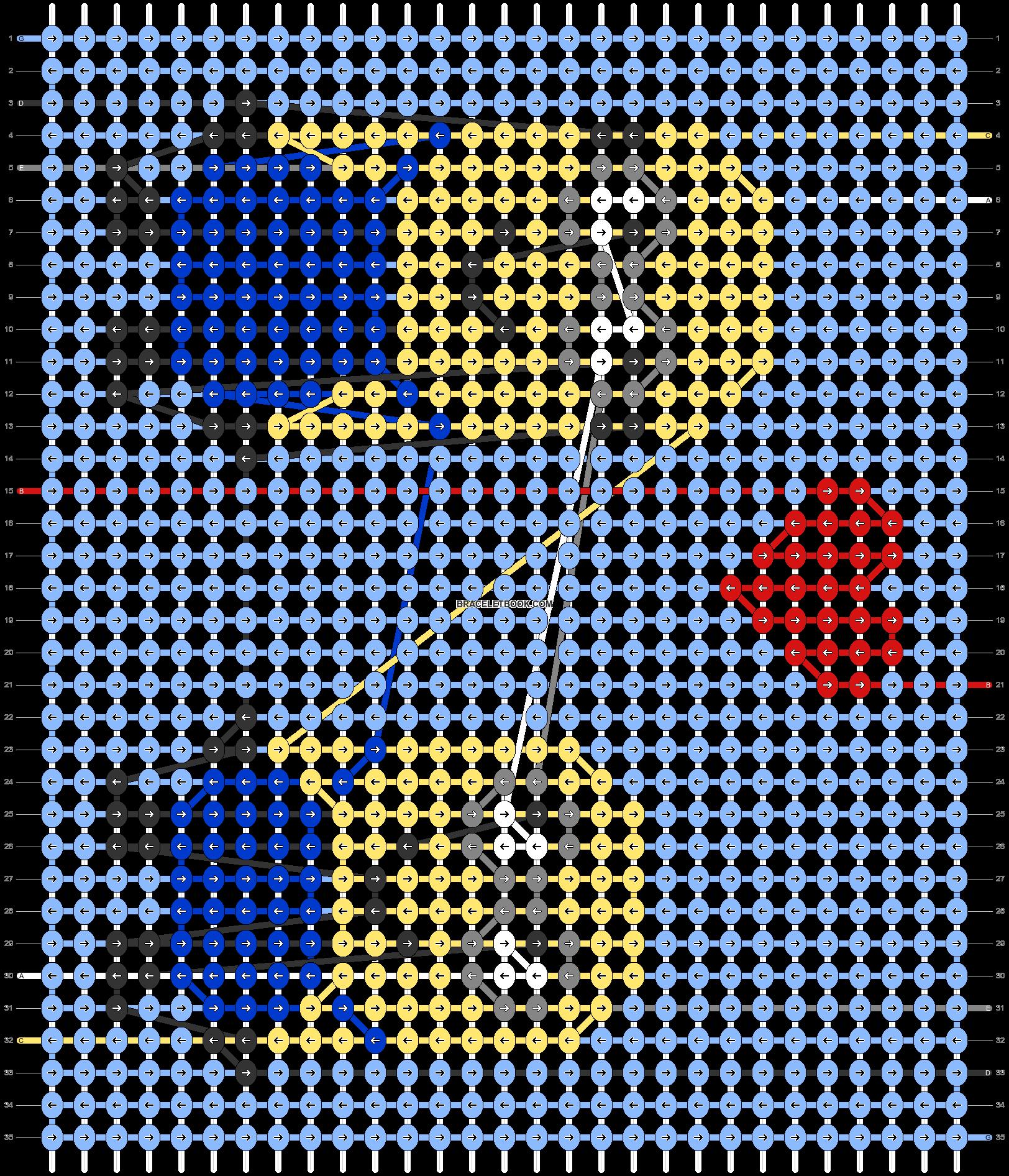 Alpha pattern #50464 pattern