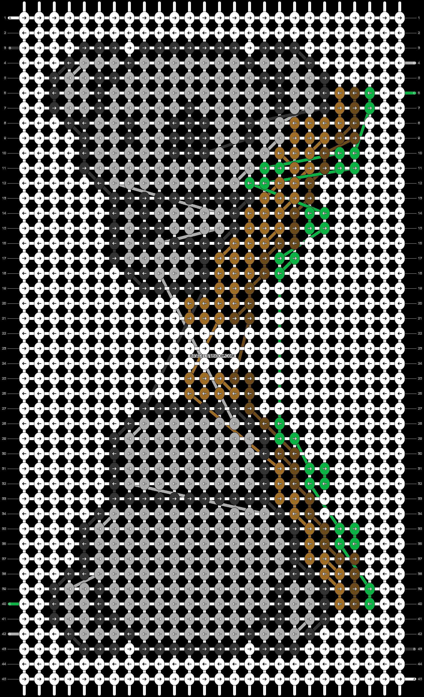 Alpha pattern #50466 pattern