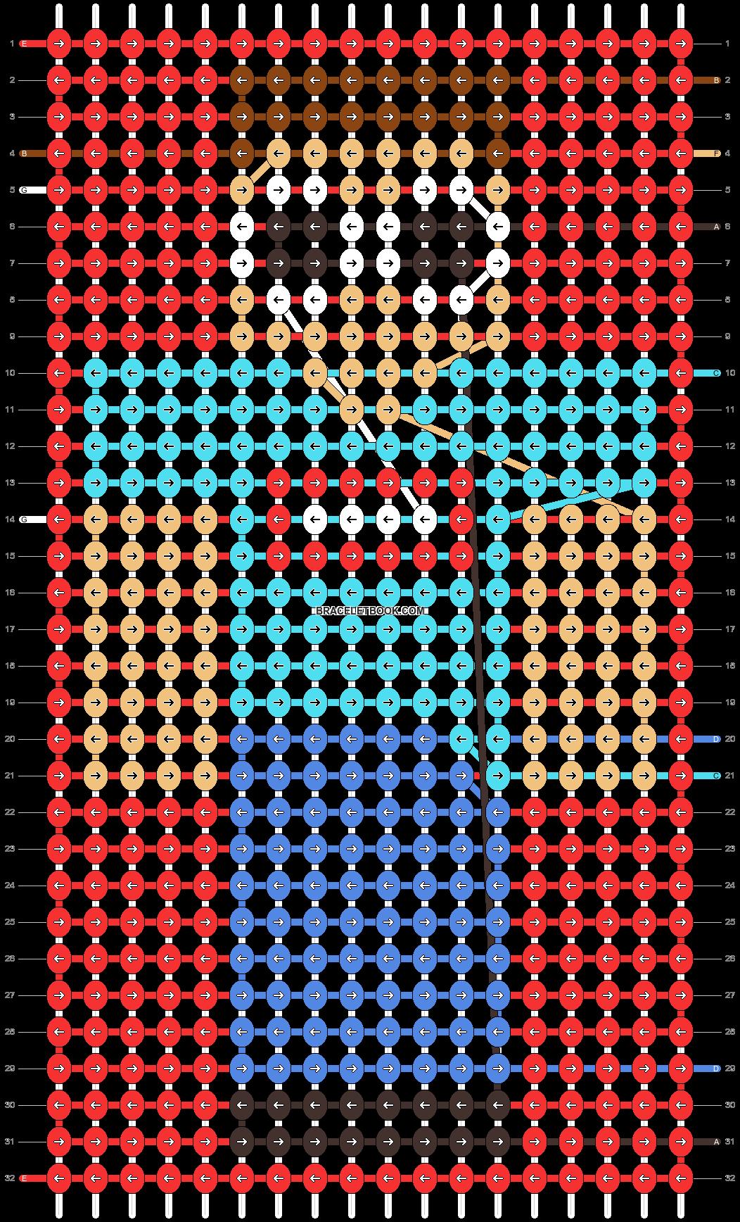 Alpha pattern #50475 pattern