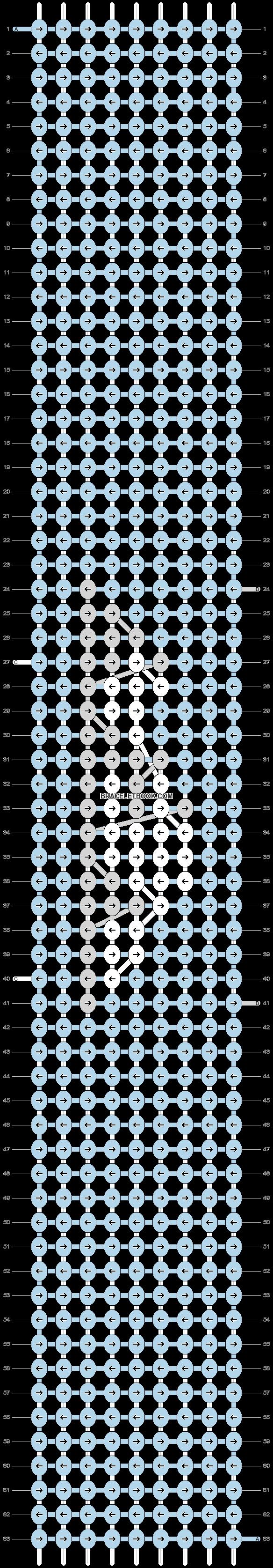 Alpha pattern #50477 pattern