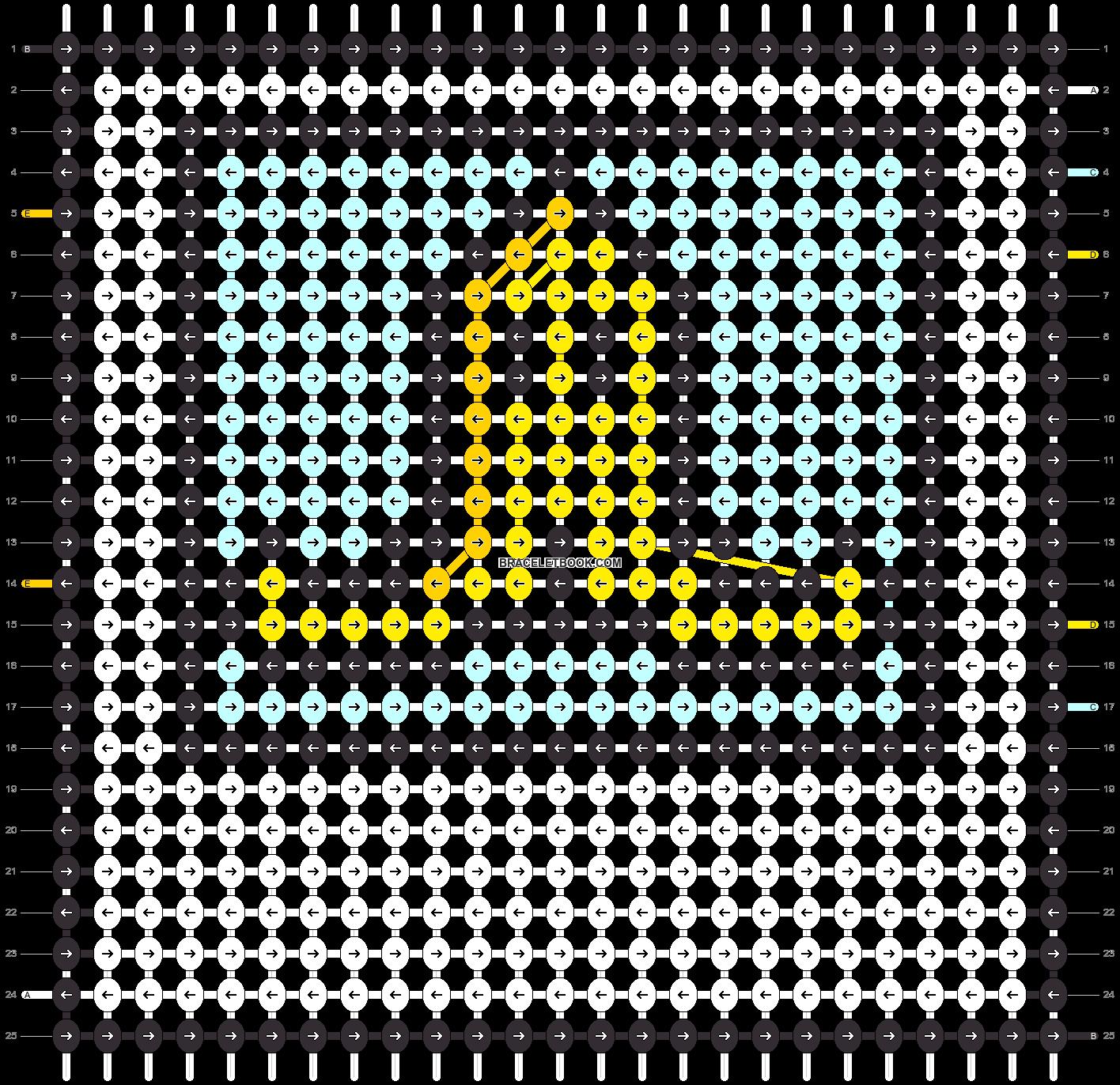 Alpha pattern #50490 pattern