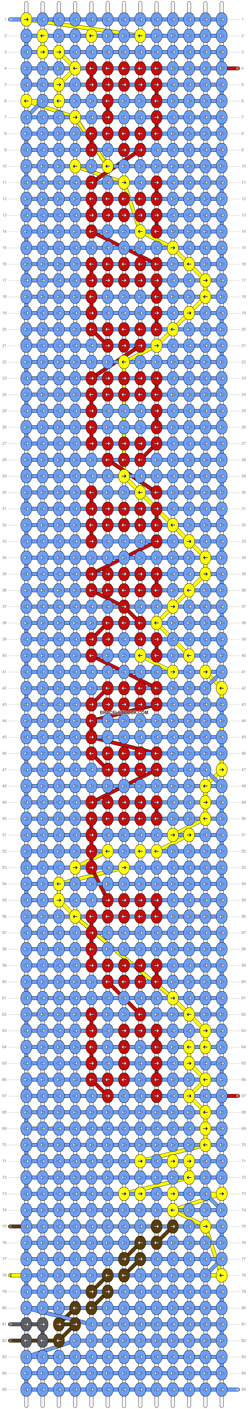 Alpha pattern #50503 pattern