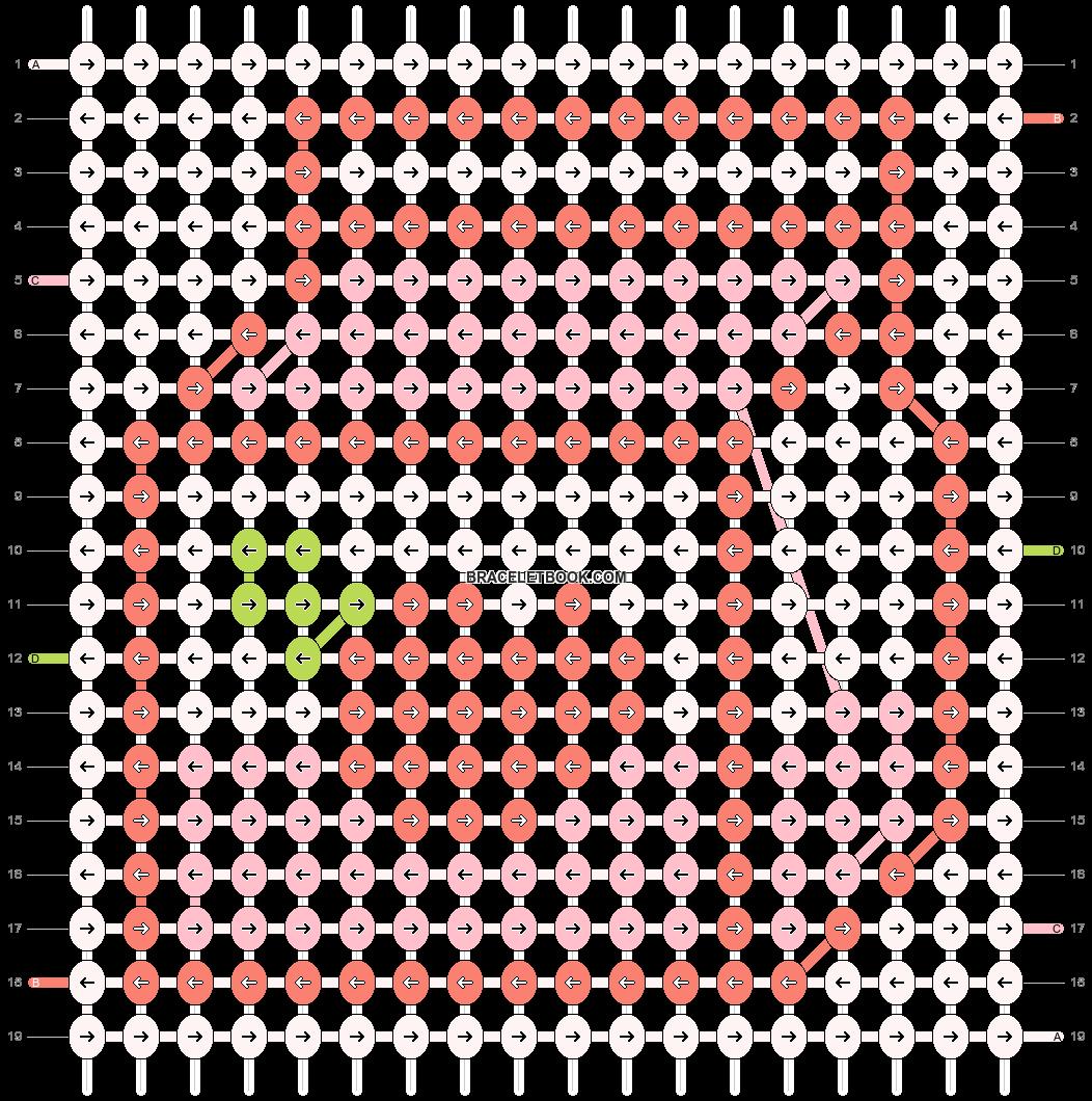 Alpha pattern #50518 pattern