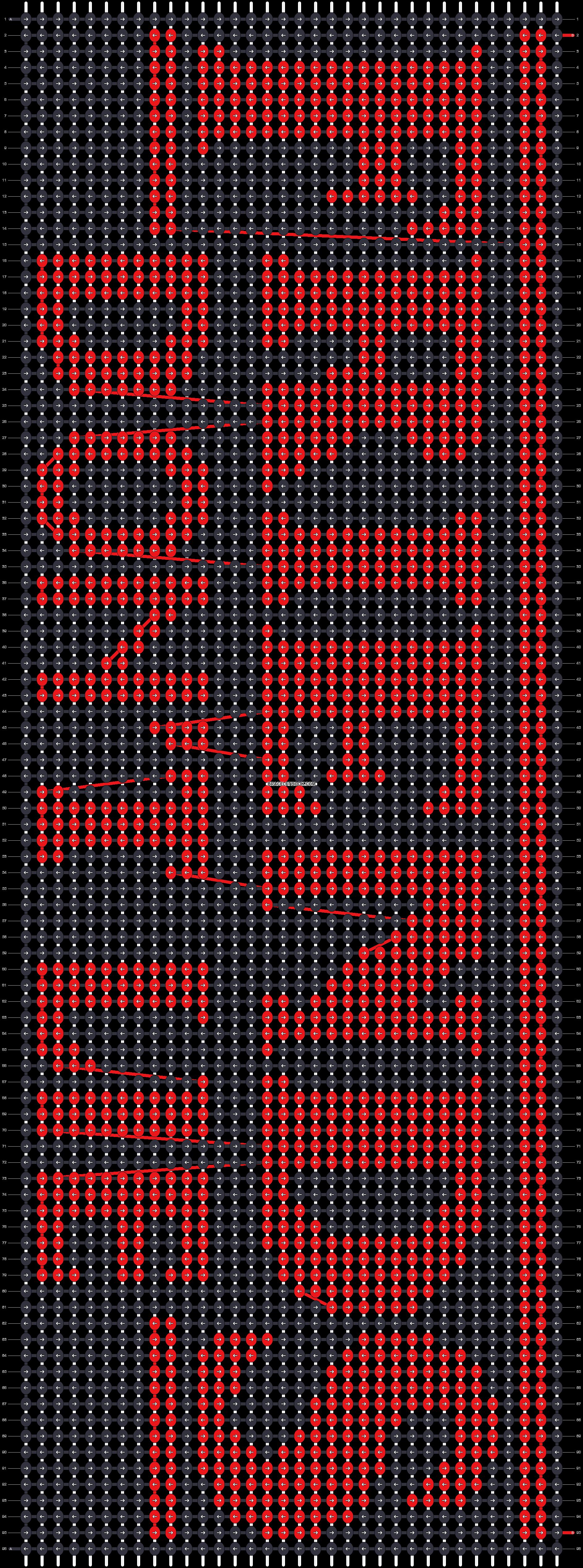 Alpha pattern #50530 pattern
