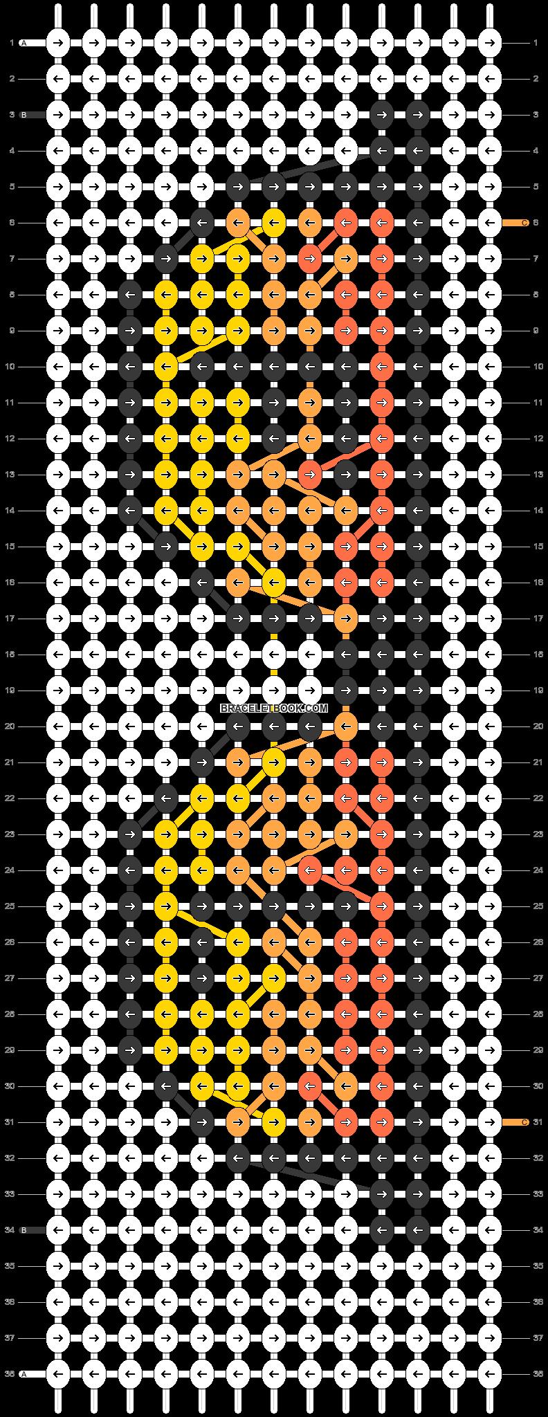 Alpha pattern #50534 pattern