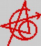 Alpha pattern #50536
