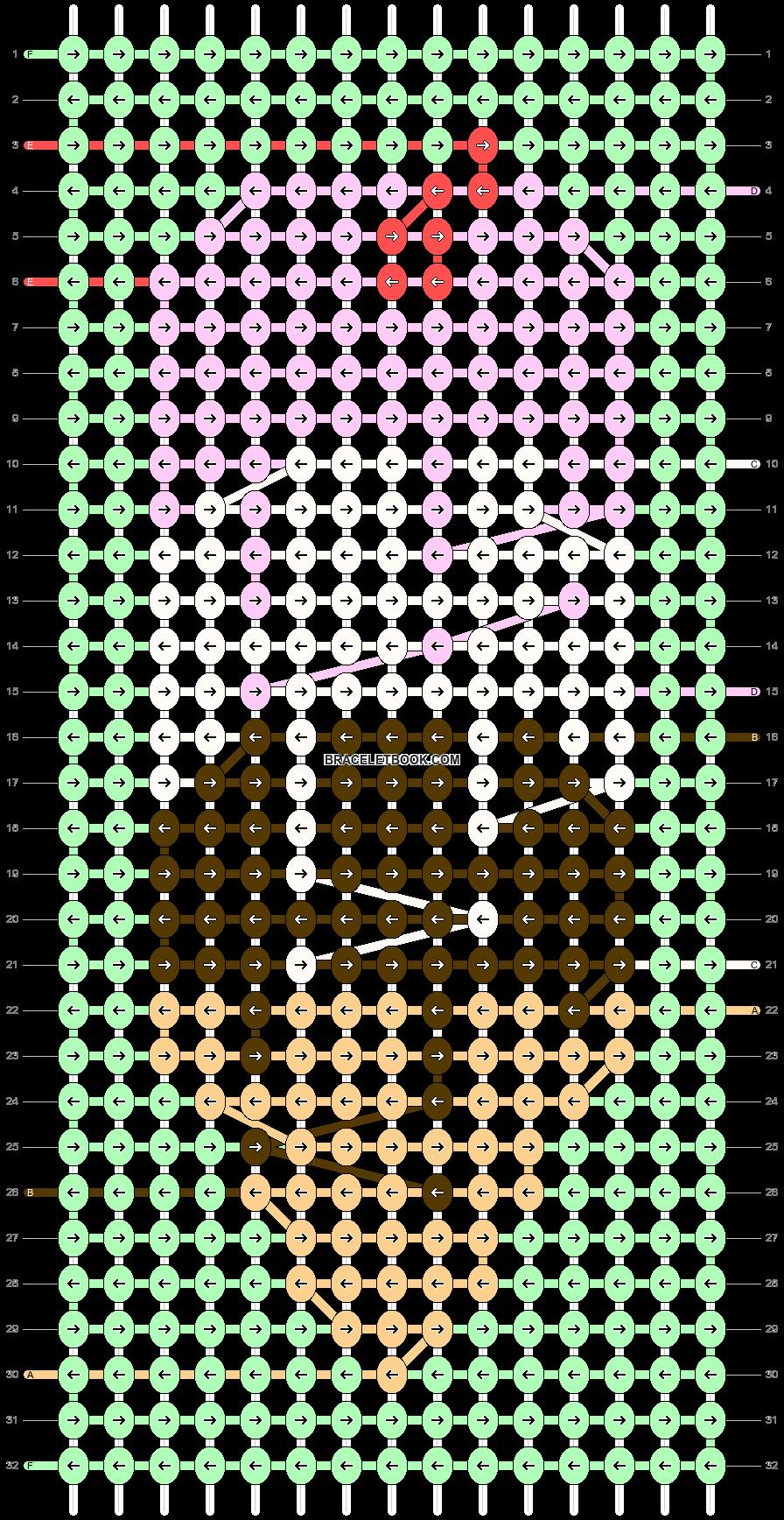 Alpha pattern #50556 pattern