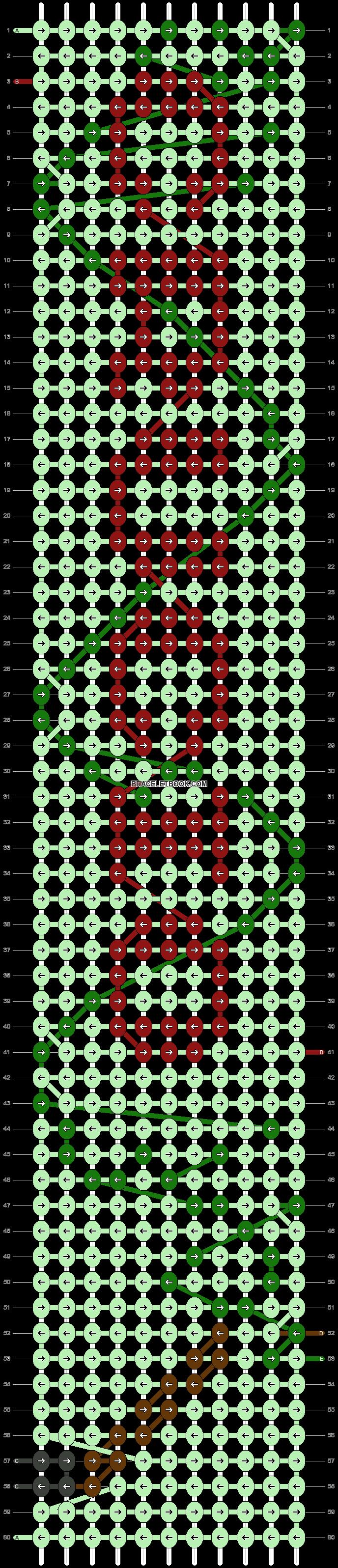 Alpha pattern #50560 pattern