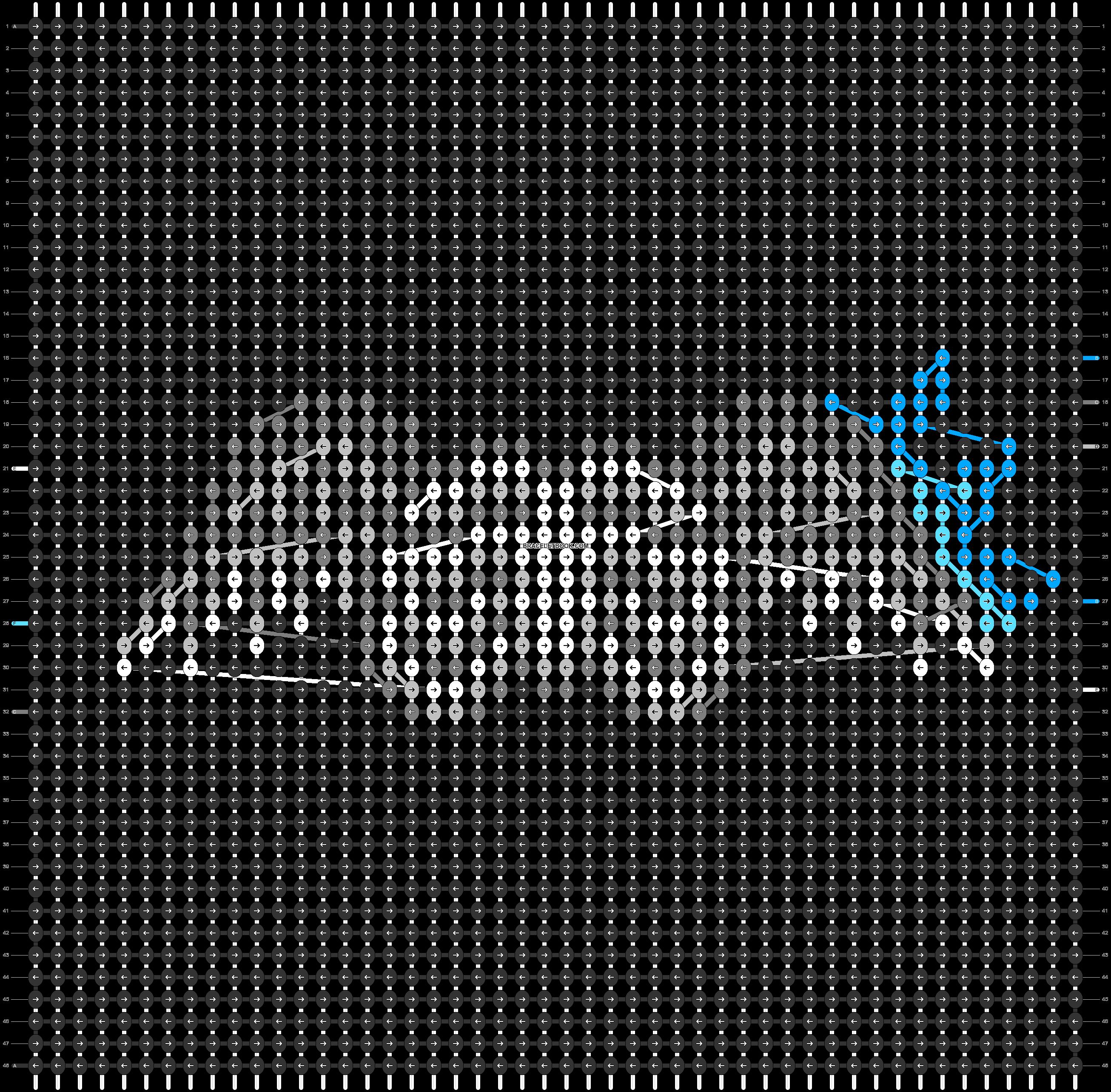 Alpha pattern #50561 pattern