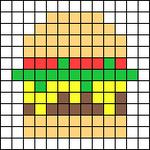 Alpha pattern #50565