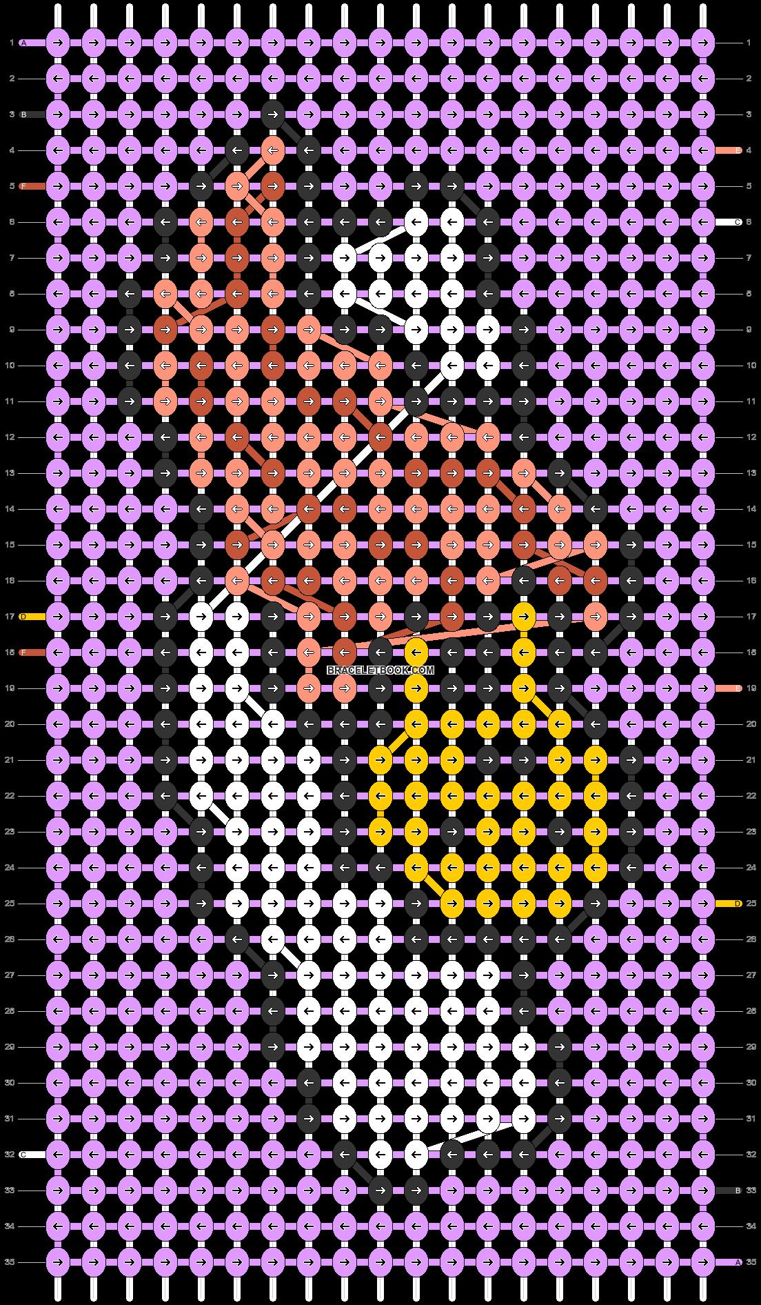 Alpha pattern #50570 pattern