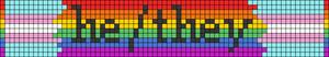 Alpha pattern #50657