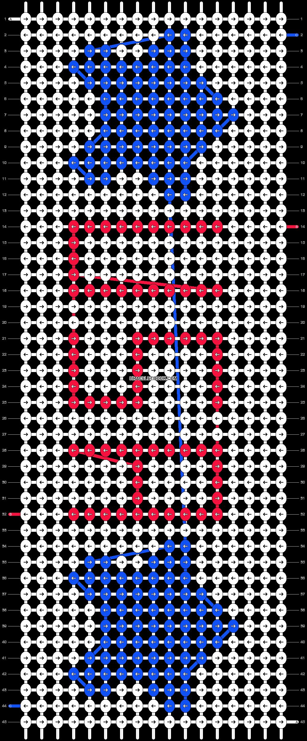Alpha pattern #50658 pattern