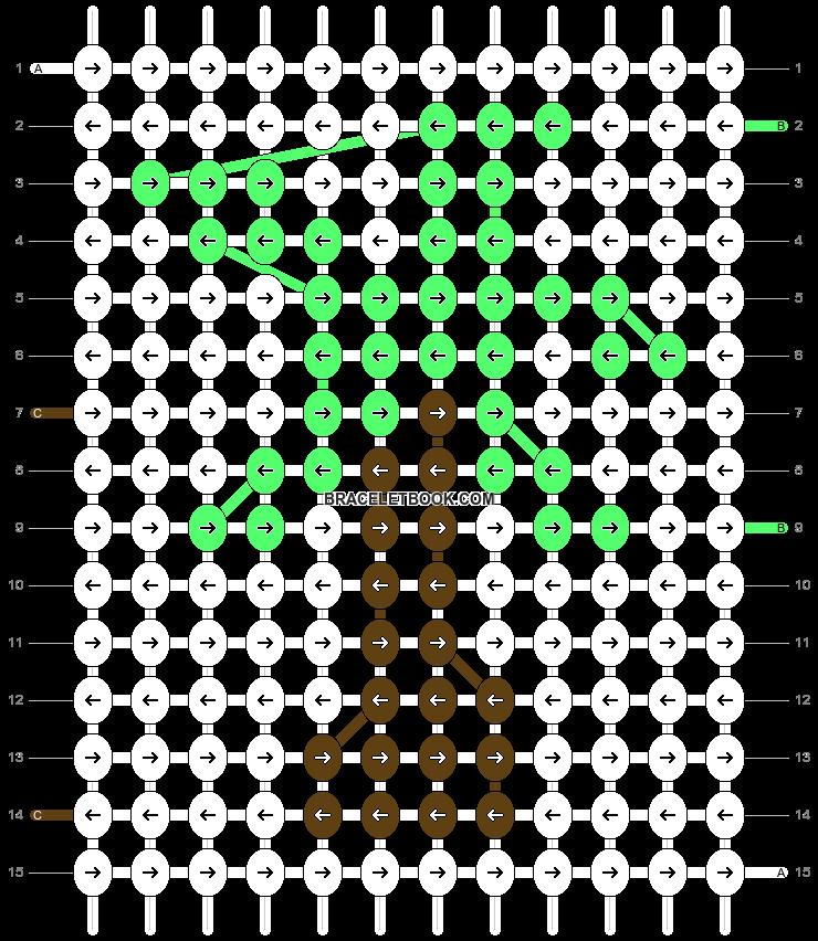 Alpha pattern #50660 pattern