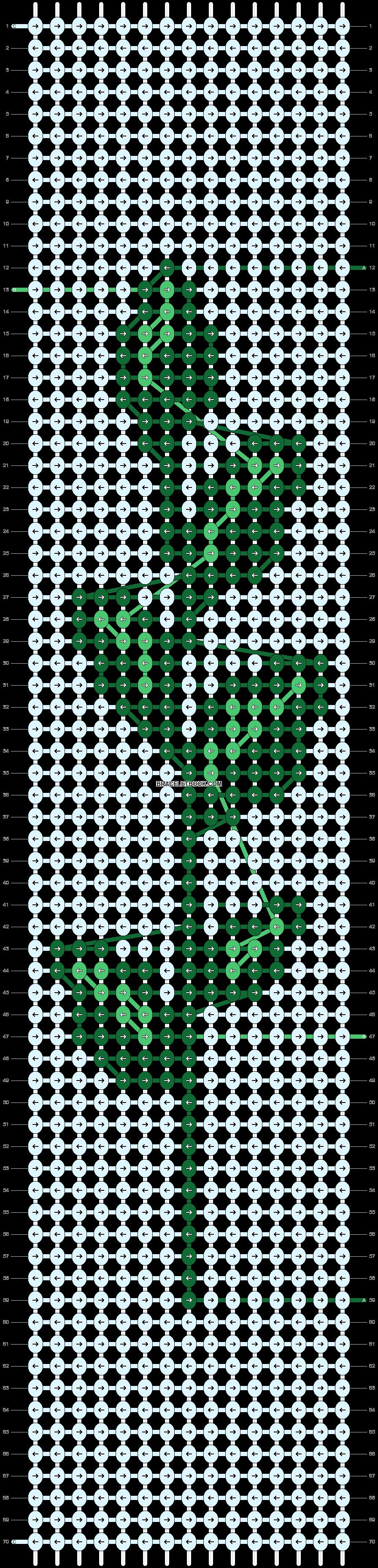 Alpha pattern #50674 pattern