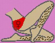 Alpha pattern #50682