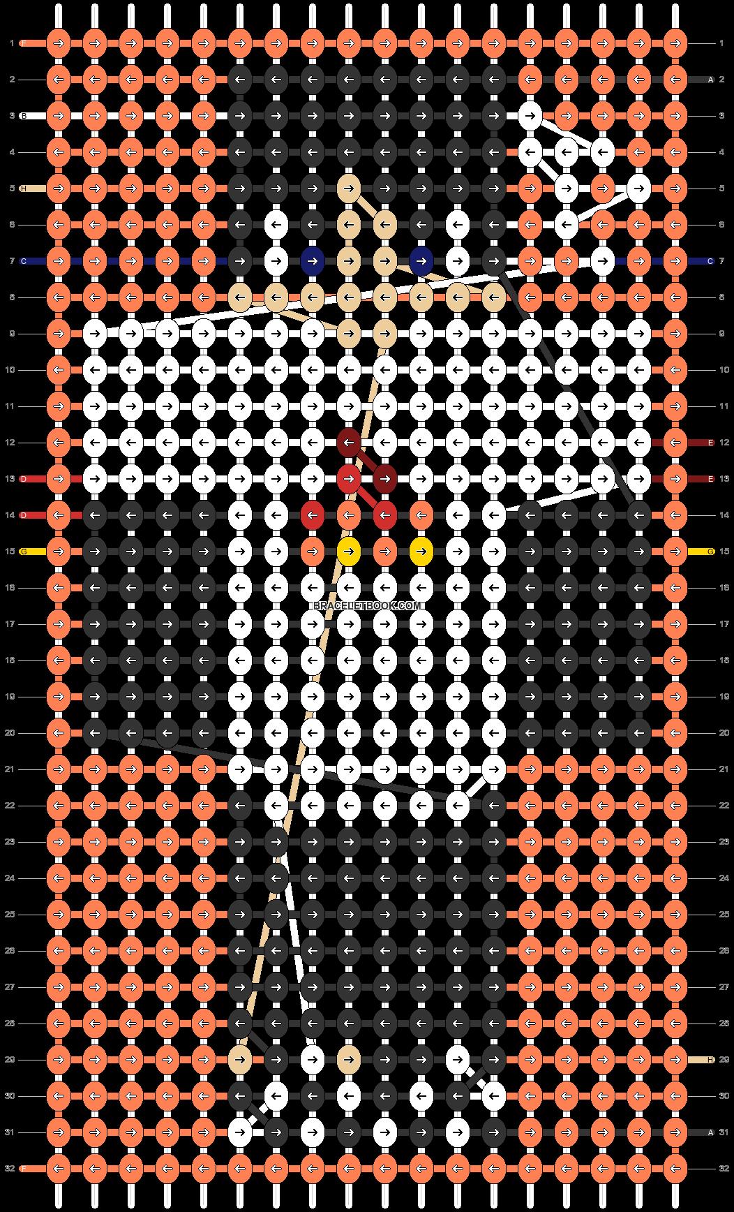 Alpha pattern #50685 pattern